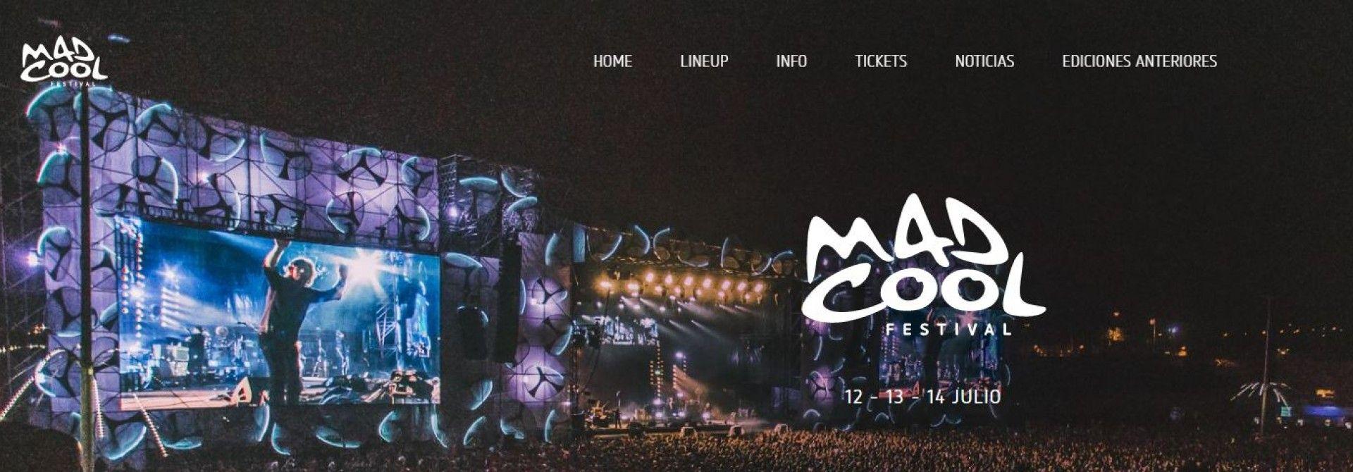 Comienza la cuenta atrás para el festival Mad Cool de Valdebebas