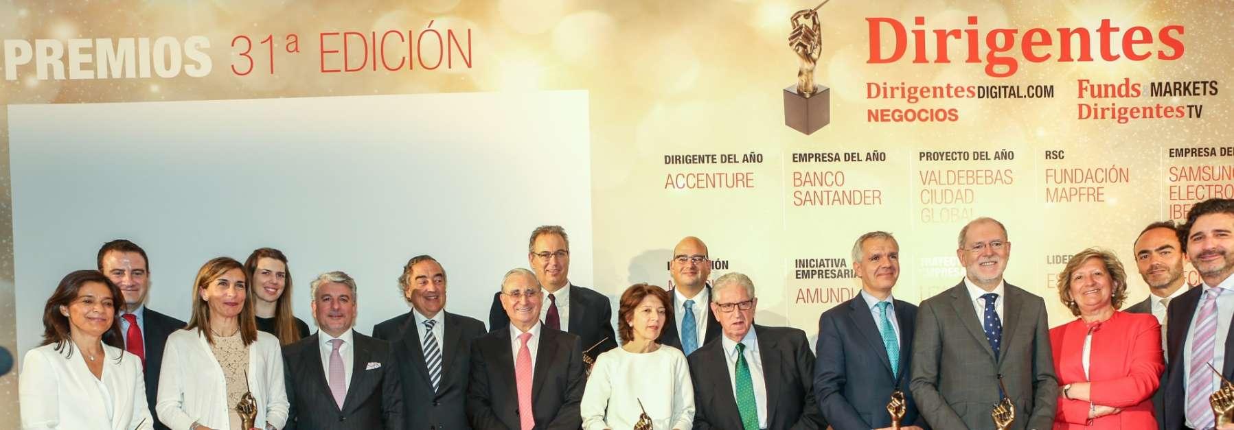 Premio 'Proyecto del año' por la revista Dirigentes para Valdebebas