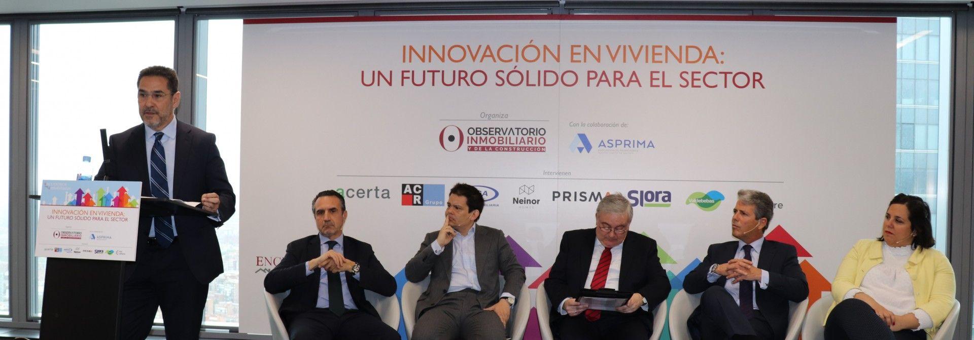 Valdebebas participa en las jornadas<br/>'Innovación en vivienda'