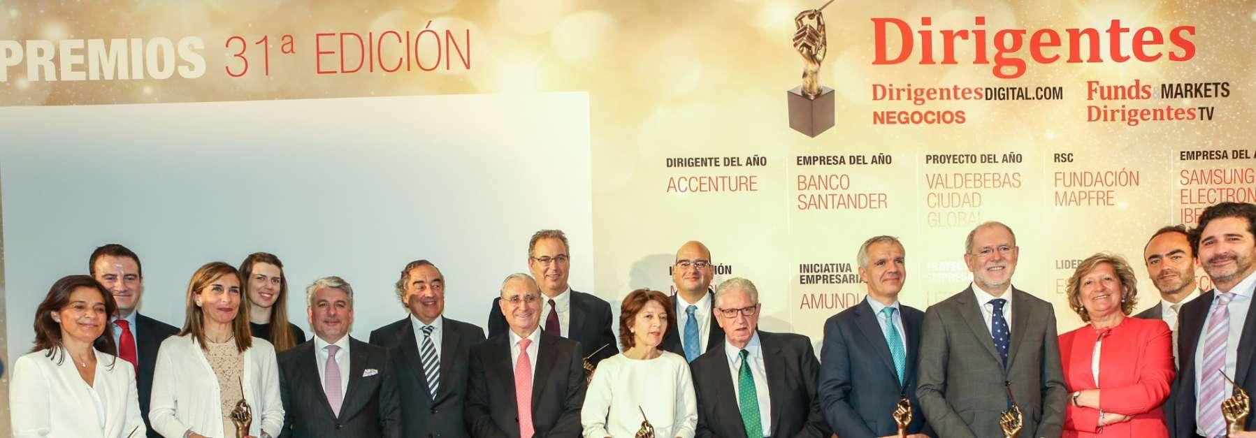 Premio 'Proyecto del año' <br/>por la revista Dirigentes para Valdebebas