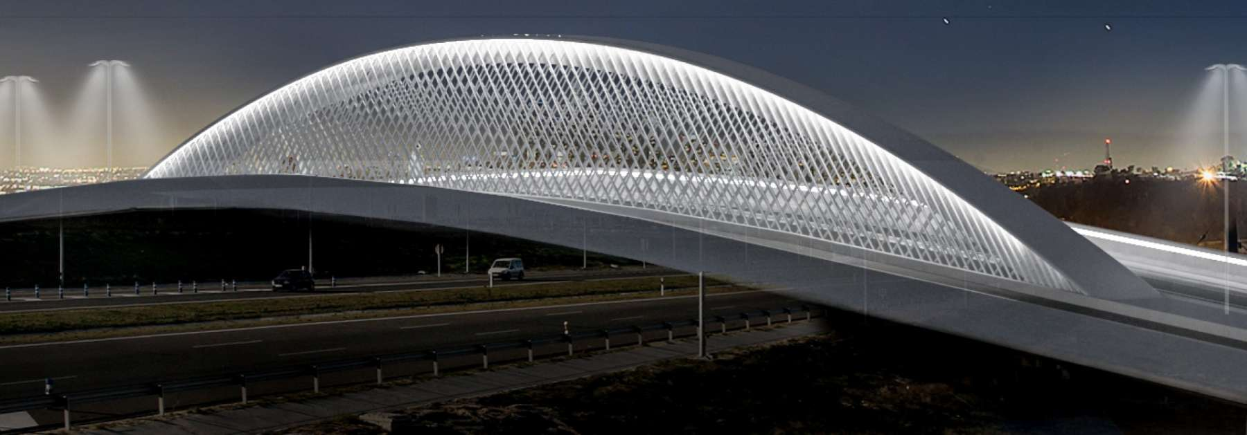 Así será el nuevo puente de Valdebebas