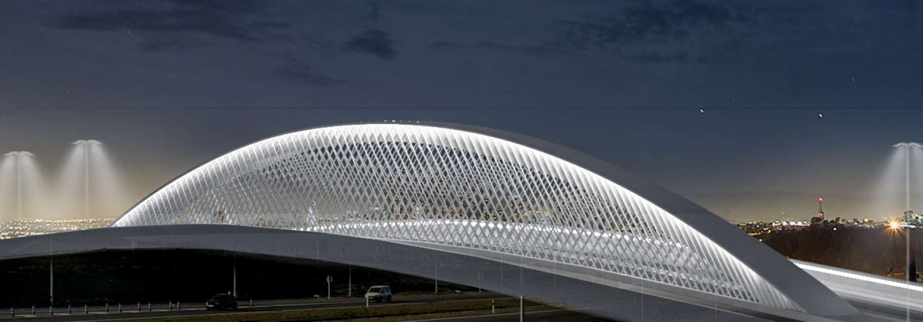 Así será el nuevo<br/> puente de Valdebebas