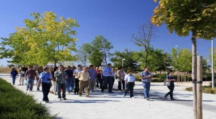 Más de 12.000 personas visitan Valdebebas en la Jornada de Puertas Abiertas