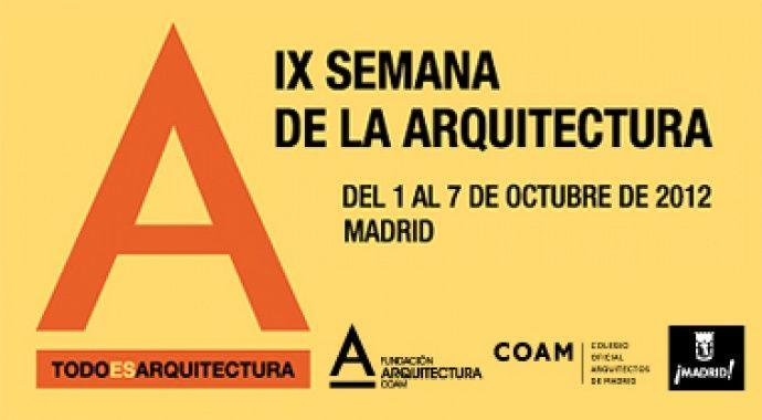 Visitas en autobús a Valdebebas con motivo de la Semana de la Arquitectura, del 1 al 7 de octubre