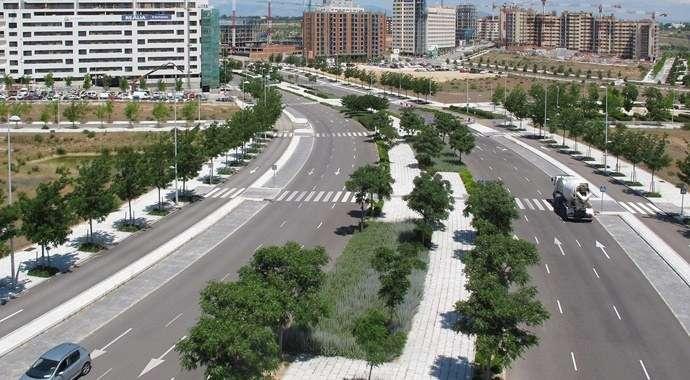 Nota de Prensa: El Ayuntamiento de Madrid abre las calles de Valdebebas