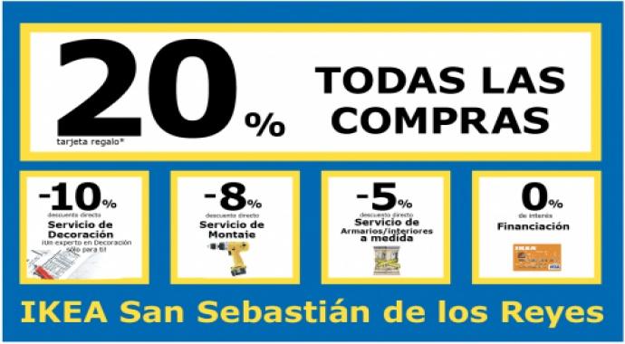 Acuerdo con IKEA San Sebastián de los Reyes para ofrecer a los vecinos de Valdebebas un 20% en sus compras y otros beneficios