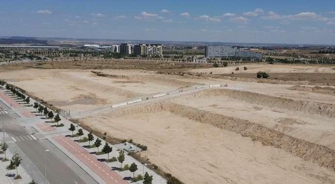 Licitado el contrato de construcción de la fachada urbana del Parque Central de Valdebebas, que comenzará de forma inmediata