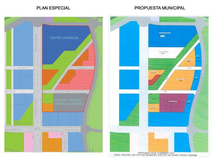 Reunión 14/03/2017 entre el Ayuntamiento y los afectados del Plan Especial