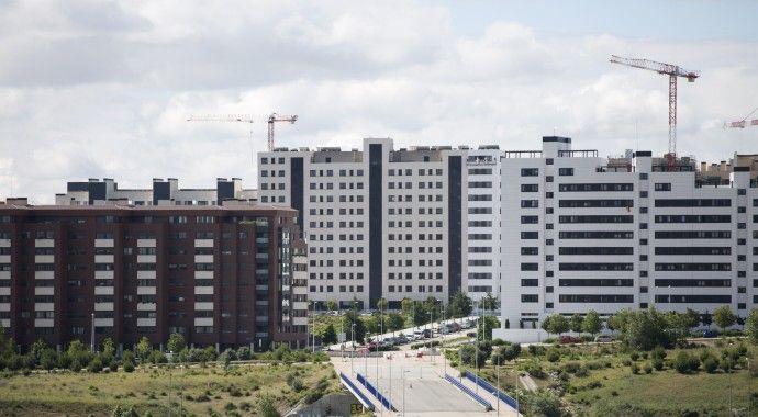 Se reanuda el otorgamiento de licencias de obra en el ámbito de Valdebebas