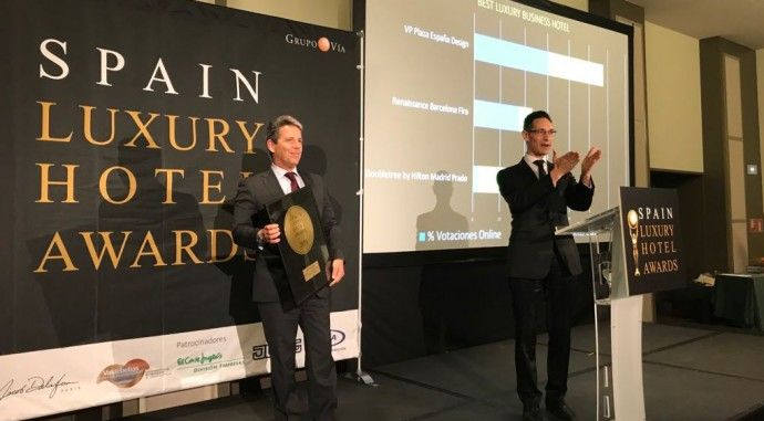 Valdebebas Fintech District entrega los premios 'Spain Luxury Hotel Awards'