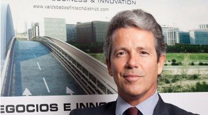 Marcos Sánchez Foncueva, Director-Gerente de la Junta de Compensación presenta Valdebebas Fintech District en Radio Intereconomía