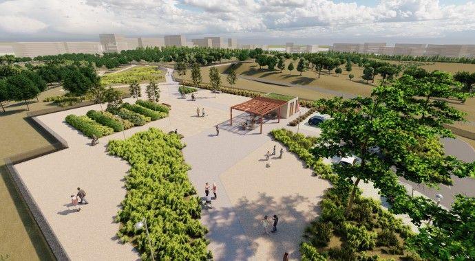 Arrancan las obras del nuevo Parque Central de Valdebebas