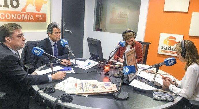 Marcos Sánchez Foncueva, Director Gerente de la Junta de Compensación de Valdebebas participa en el Foro Inmobiliario de Radio Intereconomía