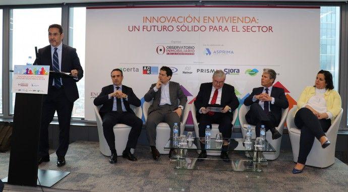 Valdebebas participa en las jornadas Inmobiliarias de la revista Observatorio Inmobiliario: 'Innovación en vivienda: un futuro sólido para el sector'