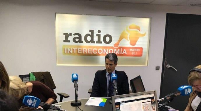 Marcos Sánchez Foncueva, gerente de la Junta de Compensación de Valdebebas participa en el debate de Radio Intereconomía en un especial por el Día de la Mujer