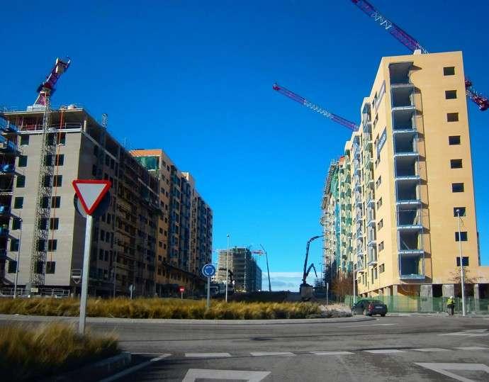 Miles de viviendas a punto de terminar sus obras de