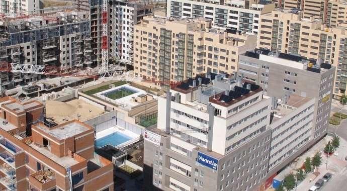 Nuevas vistas aéreas de Valdebebas, a octubre de 2013: cuando Madrid crece