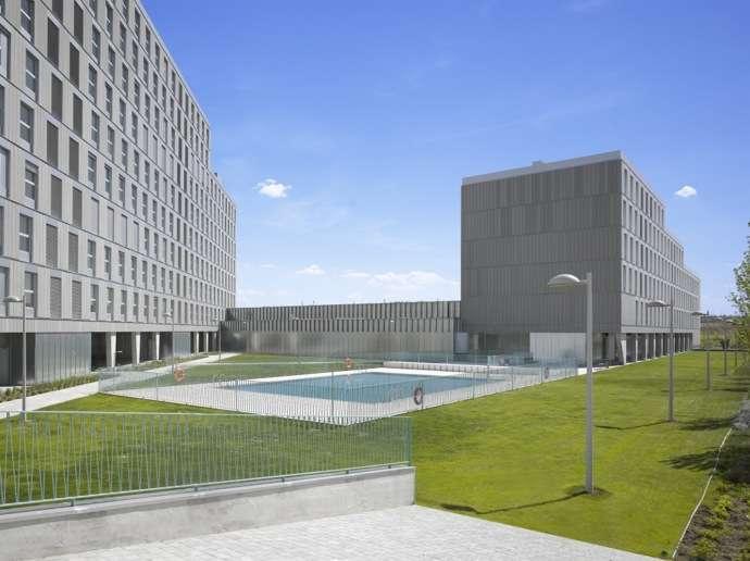 Una promoción de viviendas en Valdebebas, galardonada con el Premio COAM por su calidad arquitectónica