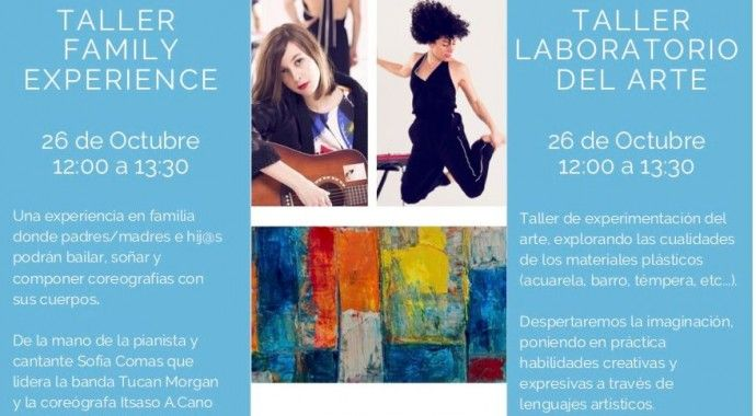 Nuevos talleres: 'Week End Arts Senso Sessions