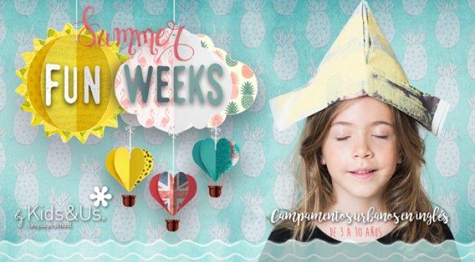 ¡Ya están aquí las Fun Weeks de Kids&Us Valdebebas!