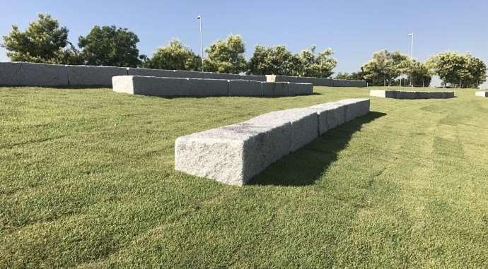 Césped de bajas necesidades hídricas implantado en los nuevos parques de valdebebas