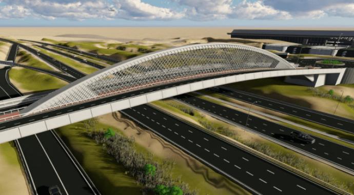 Puente de la Concordia de Valdebebas: nuevo acceso a Madrid