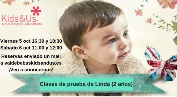 ¡Clases de prueba en Kids&Us Valdebebas!