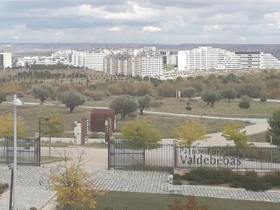 Entrada a Valdebebas