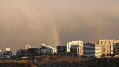 Después de la tormenta, llega... el arcoiris