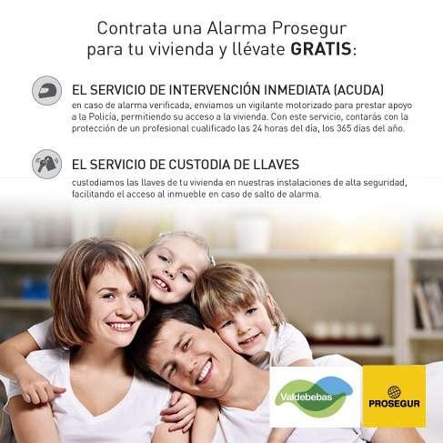 Acuerdo de servicios de seguridad de Prosegur para vecinos de Valdebebas