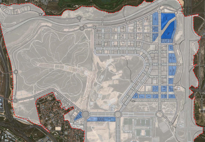 Valdebebas: parcelas de uso terciario: oficinas, hoteles, business center