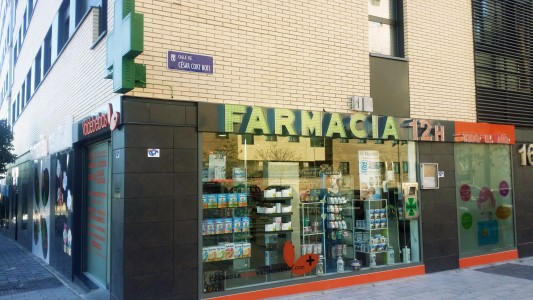 La nueva farmacia en Valdebebas está ubicada en la calle César Cort Botí esquina con Félix Candela